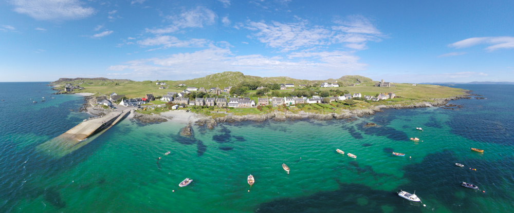 Iona from above
