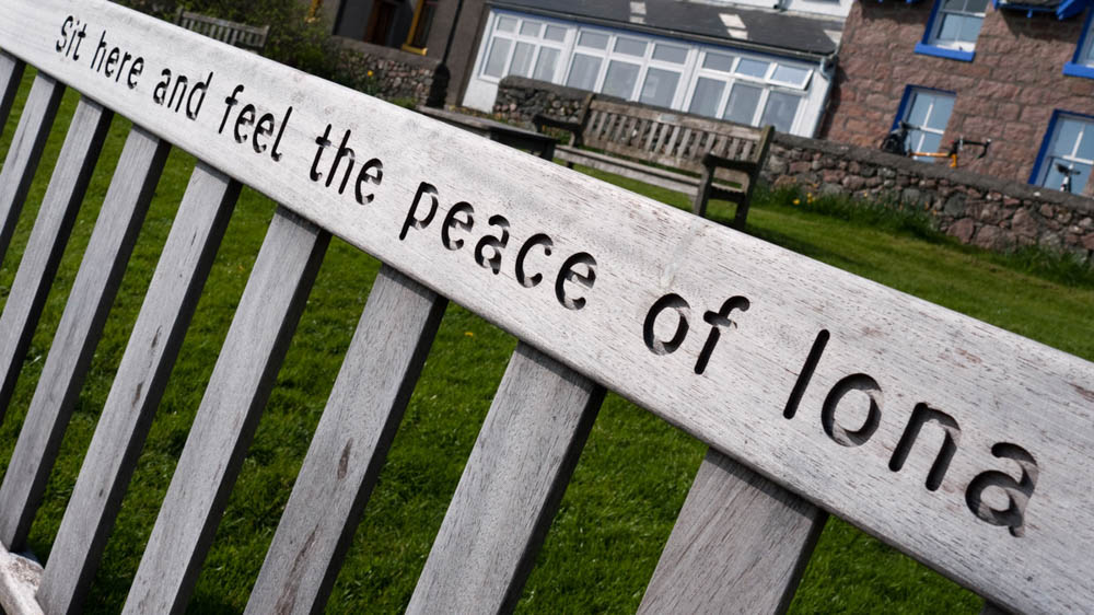 Iona bench