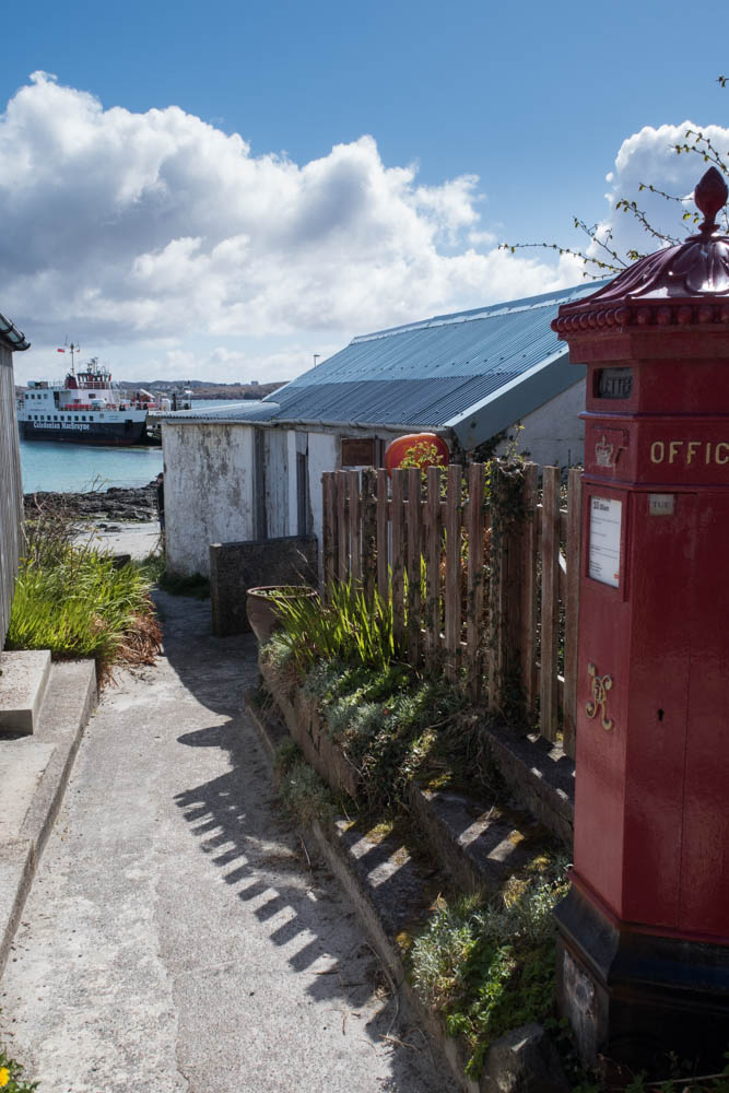 Iona post office and ferry