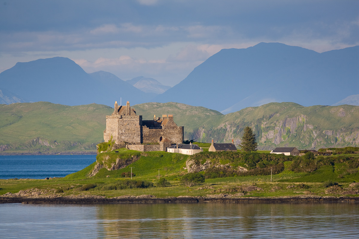 Duart Castle, a key landmark on the Isle of Mull