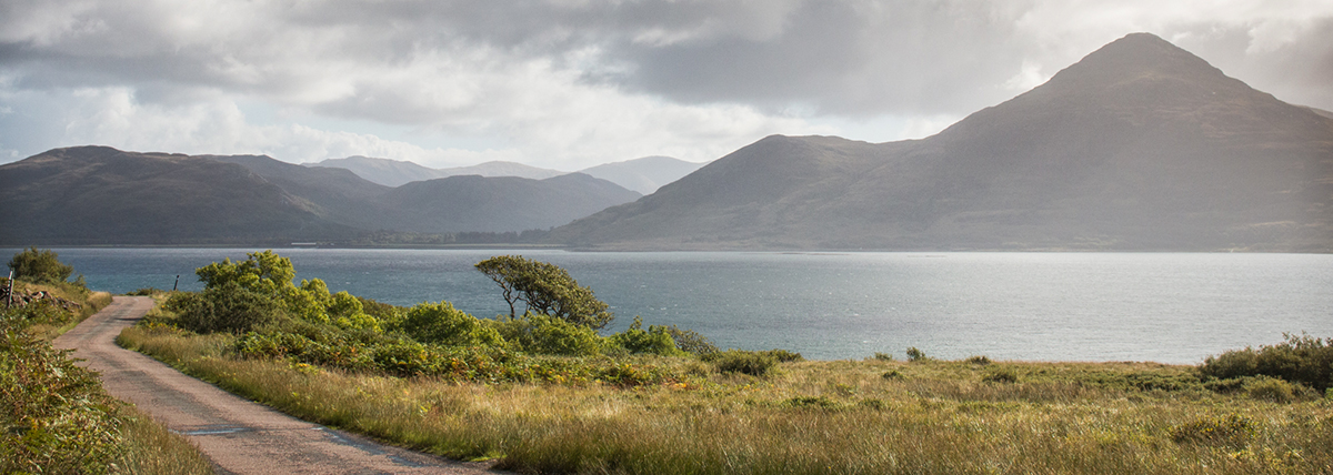 Getting to Mull rewards you with a picturesque drive to your cottage