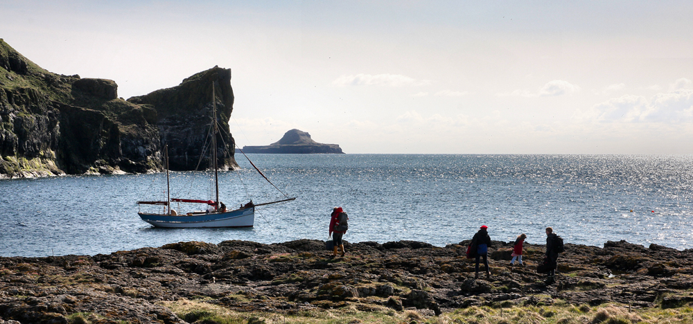 Mull is an island surrounded by many other magical islands, home to seabird colonies and amazing marine sightings en route. We recommend the Treshnish Isles
