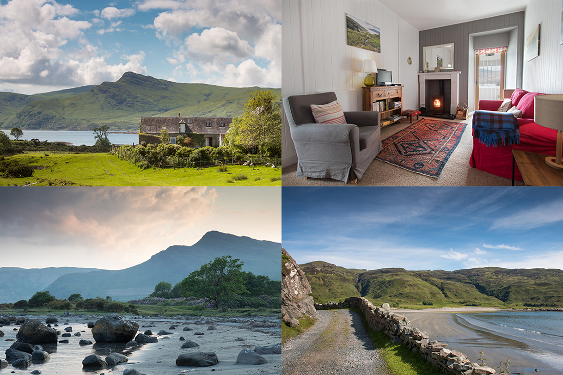 Two of the Isle of Mull's biggest attractions are the scenery and the wildlife, so make the most of both by booking one of these remote holiday cottages