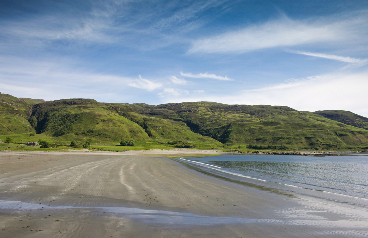 Laggan Sands is a lovely option for a beach walk on Mull
