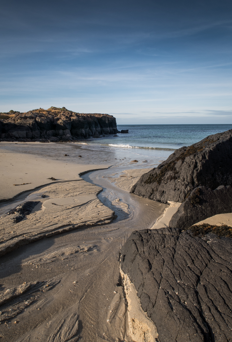 Langamull is a stunning sandy beach in the island's North West