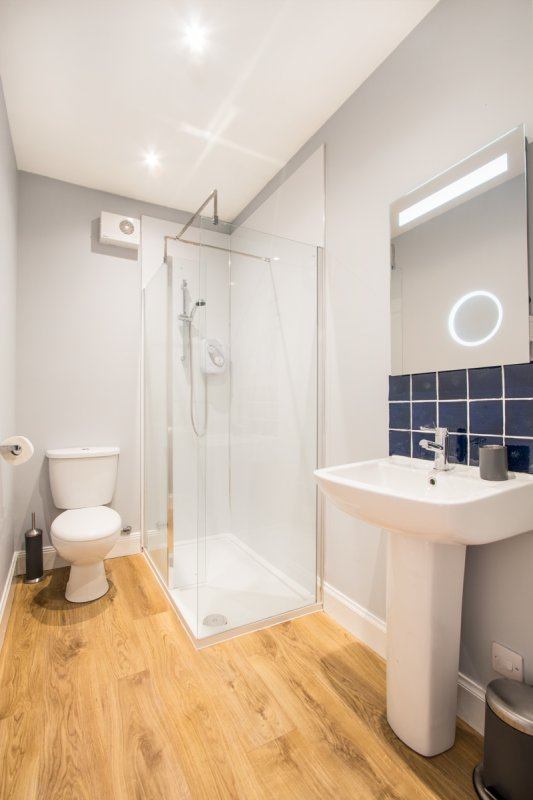 Electric Bathroom Heaters >> Lismore Apartment. Self Catering in Tobermory on the Isle of Mull.
