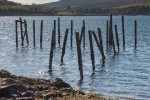 Old pier in Salen