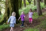 Kids will love exploring the wood at Calgary