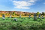 Morning light at Lochbuie stone circle