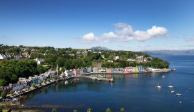 The isle of Mull's 'capital' Tobermory