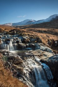 Waterfall's on the Abhainn na h-Uamha