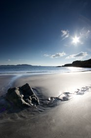 Traigh na Cille (beach of the monastic cell) near Torloisk in north mull