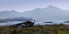 Old boat on Ulva