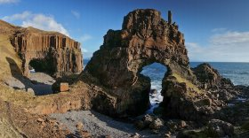 Carsaig Arches on Mull's south coast