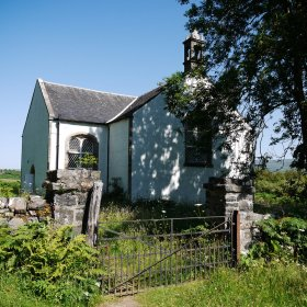 Ulva church designed by Thomas Telford