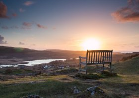 Bench above Dervaig