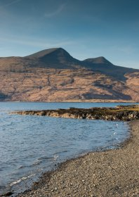 Mull also has beautiful pebble beaches like this on at Pennyghael