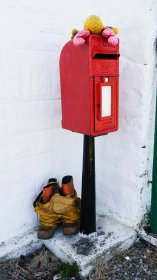 Post box on Ulva