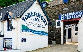 The distillery in Tob
