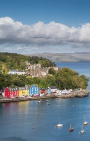 Tobermory's harbour