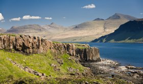Exploring Ulva just off Mull's west coast