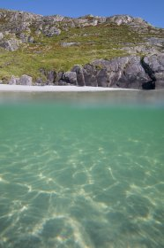 Mull's beaches are beautiful above and below the waterline