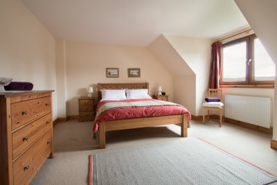 Second double bedroom at Corrieyairack