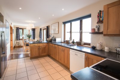 Good sized kitchen, well equipped for families