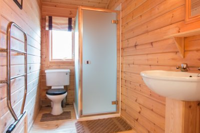 Bathroom in Fors Lodge