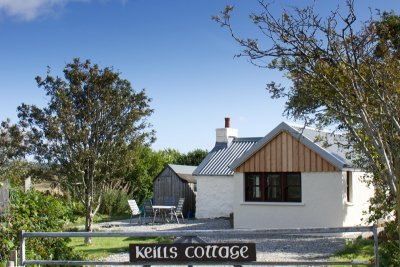 Keills Cottage entrance