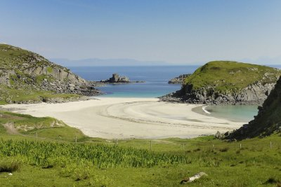 Market Bay beach on the Ross of Mull