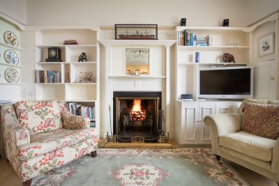 A cosy place to curl up with a book
