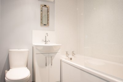 One of the ensuite bathrooms at Avoch