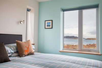 Fall asleep to the sound of the sea at Bun Creige