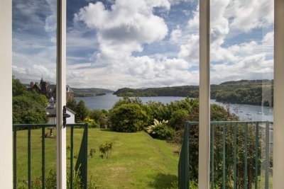 Open the french doors and enjoy the views from the double bedroom