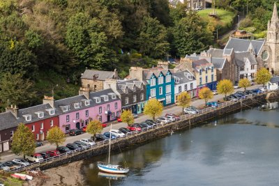 Picturesque setting in Tobermory