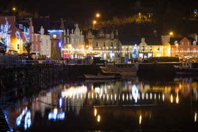 Tobermory by night