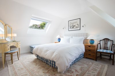 Double bedroom at Craig Ben Cottage