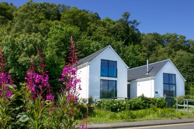 Craignure Bay House in late summer