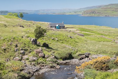 Stunning setting by Loch na Keal