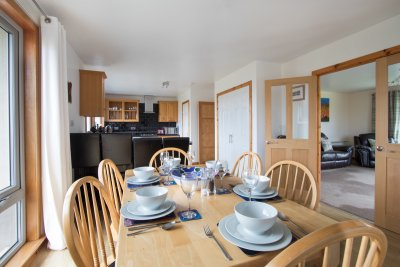Kitchen/diner with all you need for self-catering