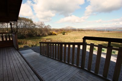 Fors Lodge decking