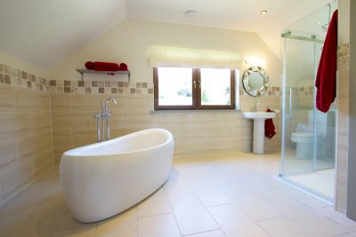 Master double ensuite bathroom