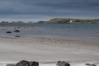 The sandy beach at Gribun just 10 mins away from the cottage