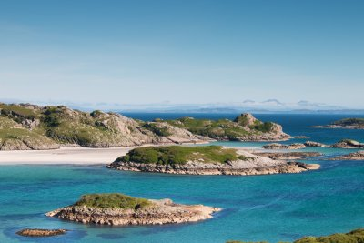 Excellent beaches on the Ross of Mull