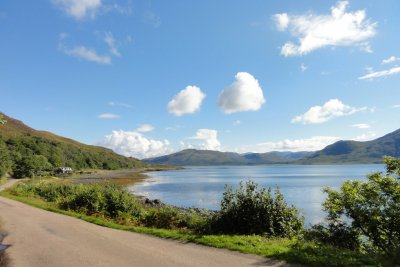 Situated on the edge of Loch na Keal