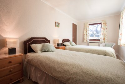 Twin bedroom at Kilbeg