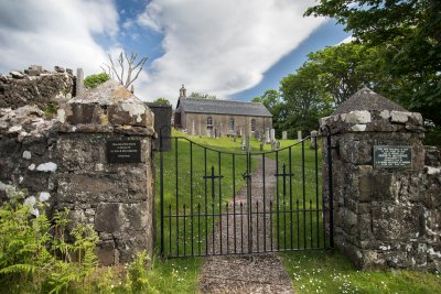 Historical Kilninian church can be visited next door