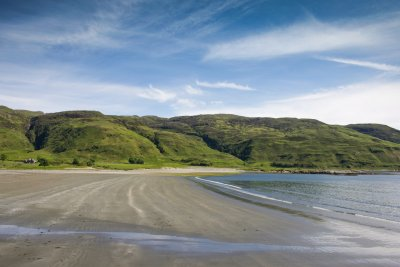 Laggan Sands at Lochbuie - a 30 minute drive from the house