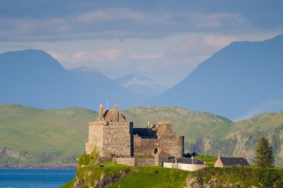 Duart Castle is just over a mile from the house